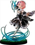 Kdcolle Re Zero Figure Toy Starting Life In Another World Ram Roswar Battle Ver