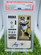 2017 Panini Contenders Taysom Hill 249 Rookie Ticket Autograph Auto Psa 10 💎