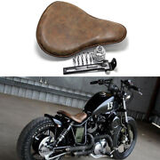 Brown Motorcycle Solo Seat Spring For Harley Davidson Sportster 1200 883