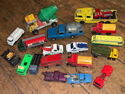 Lot 14 Of 20 Matchbox Collectable Commercial Restoration Collector Lesney Corgi