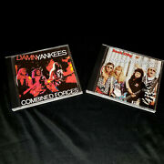 Damn Yankees 2x1 Cd Sets Combined Forces 90 And Rock City 91 Ted Nugent Tommy Shaw