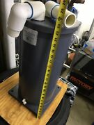 Used Titanium Heat Exchanger For Pools And Spas-- From A 120000 Btu Pool Heater