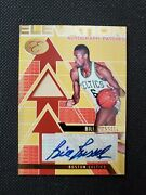 2007-08 Bill Russell Bowman Elevation Auto Patch Sp Insert 3/7 Autograph Topps