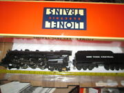 Lionel 18005 New York Central 700e 4-6-4 Hudson Locomotive And Tender In Box.