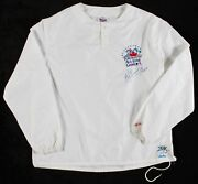 Ken Griffey Jr. Game Used And Signed 1991 All Star Game Pullover Jacket Beckett