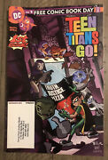 Teen Titans Go 1 Free Comic Book Day Edition Dc Comics First Appearances 2004