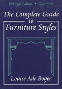 Antique Furniture Periods Styles Types / In-depth Book Collector Appraiser Guide
