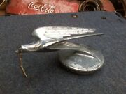 Vintage Hood Ornament Swift Radiator Cap Ford Chevy Model T A
