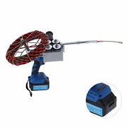Cable Threading Machine Automatic Electric Set Plumber Wire Puller Pulling Kit
