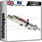 Gpr Exhaust Homologated Deeptone Cafe Racer Stainless Steel Bmw R 90 Gs 1983 83