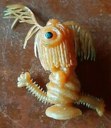 Vintage 1967 Topps Oily Rubber Ugly Monster Uglies Jiggler Diana Creature