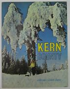 Bakersfield Kern County Board Trade Brochure Oil Agriculture Photo Book 1960's