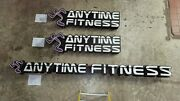 Anytime Fitness Signs Retail Marquee Set Of 3