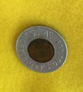 Encased S.a. Chevroletand039s Got It 1948-d Lincoln Wheat Cent Good Luckandnbsppenny