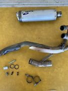 Yamaha Raptor 660r White Brothers Exhaust Header Pipe 2001