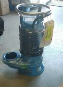 Amp Pumps 576e-95 Submersible Shredder Sewage Pump - Cast Iron And Ss
