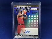 Kevin Porter Jr 2019-20 Panini Absolute Future Signatures Auto Rc Rookie D 1/25