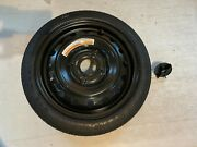 07-12 Nissan Versa T125/70d15 Spare Wheel Tire Goodyear And Tire Tie Down Bolt Oem