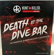 Hunt A Killer Death At The Dive Bar Immersive Murder Mystery Game