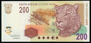 🔸south Africa 200 Rand 2005 P-132 Unc N-015🔸