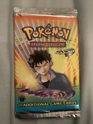 Factory Sealed 1st Edition Pokemon Booster Pack Gym Heroes