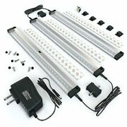 3 12 Inch Panels Led Dimmable Under Cabinet Lighting Kit, Cool White 6000k