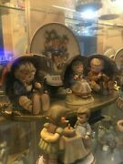 45 Piece Lot Of Hummel Plates Dolls And Figurines Just Discounted 1950