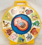 Vintage Mattel 1964, The Farmer Says See 'n Say Pull String Toy