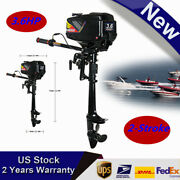 3.6hp 2stroke Outboard Motor Boat Engine Dinghy Water Coolingandcdi System Hangkai