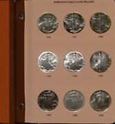 1986 To 2011 American Silver Eagle Collection | .999 Silver 1 | 26 Coin Ases