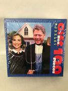Arkansas Gothic Bill And Hillary Clinton 100 Pieces Jigsaw Puzzle Size 8'x10' Usa