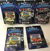 2000 And 2001 Muscle Machines 164 1969 Camaro Lot Of 5 Cars
