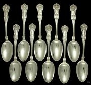 10 Kings Pattern Sterling Silver Tablespoons