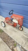 Vintage Metal Amf 502 Pedal Tractor Power Trac Chain Driven