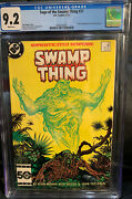 Saga Of The Swamp Thing 37 Cgc 9.2 , First Appearance John Constantine