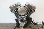 Ultima 127 Cui Engine Motor And Carb Fits Harley-davidson Touring Evo Frames