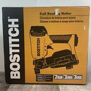Bostitch Rn46-1 Coil Roofing Nailer Power Tool 15° Coil Nails New Free Shipping