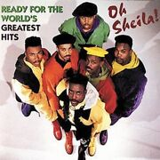 Oh Sheila Ready For The World 12 Greatest Hits Cd 1993 Mcad-10905 Rare/oop