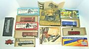Ho Scale Train Set With Boxes Vintage Varney,lehigh,and More Vintage Kits
