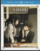 Hyouka Part Two Episodes 12-22 Blu-ray Disc/dvd, 2017, 4-disc Set