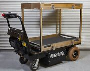 Dj Products Cart Caddy Partscaddy W/ Custom Stainless Shelf Parts Material Mover