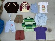 Kids Vintage Clothing Lot 60 Piece Children Toddlers Baby 1960s 1970s As Is