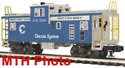 Mth 20-91201 Chessie System Cando Extended Vision Caboose Premier 2006 C9