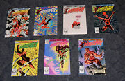Marvel Comics Daredevil 1982 Issues 180,183,186,187,188,189,190 And 191