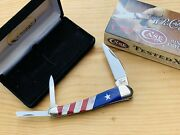 R@re Case Xx Exotic Patriotic Ex355wh Seahorse Whittler Knife Pearl Coral Lapis