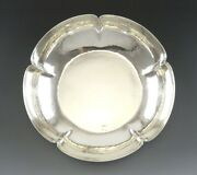 1935 Hand Hammered Chicago Arts And Crafts Didrich Sterling Silver Bowl 9 1/4