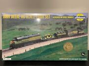 Athearn John Deere Ho Train Set With Two 4010 Tractors 2000 4th In Series Nib