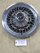 1974 - 1979 Ford Thunderbird Wire Spoke Hubcap 15andrdquo One Hubcap