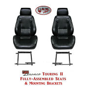 Standard Touring Ii Seats And Brackets For 1968-77 Ford Broncoand039s Any Color