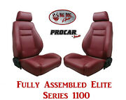 Procar Full Bucket Seats 80-1100-56 Elite 1100 Series For 1978 - 79 Ford Bronco